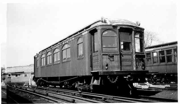 (20k, 633x367)<br><b>Country:</b> United States<br><b>City:</b> New York<br><b>System:</b> New York City Transit<br><b>Location:</b> East New York Yard/Shops<br><b>Car:</b> BMT Elevated Gate Car 999 <br><b>Photo by:</b> Frank Pfuhler<br><b>Date:</b> 3/29/1958<br><b>Viewed (this week/total):</b> 4 / 1582