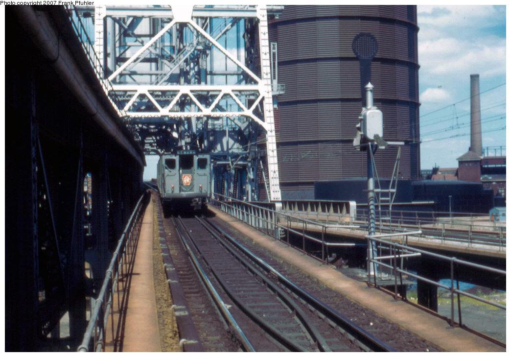 (225k, 1044x729)<br><b>Country:</b> United States<br><b>City:</b> Newark, NJ<br><b>System:</b> PATH<br><b>Location:</b> Newark (Penn Station) <br><b>Car:</b> H&M/PATH K-class  <br><b>Photo by:</b> Frank Pfuhler<br><b>Date:</b> 7/20/1958<br><b>Viewed (this week/total):</b> 1 / 2414
