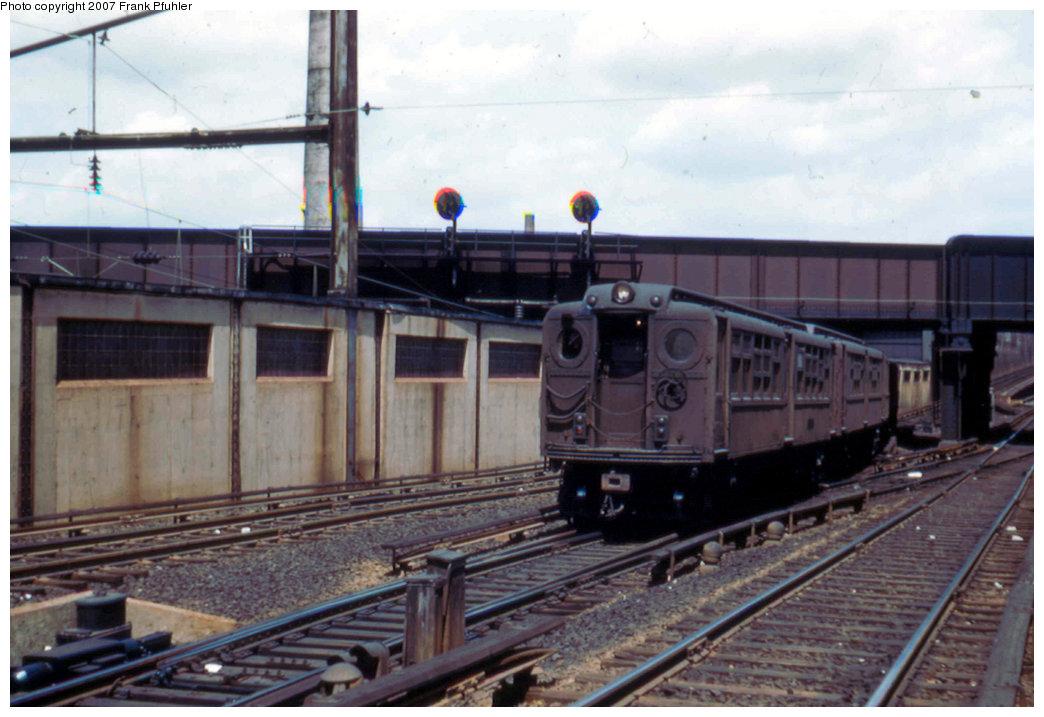 (197k, 1044x717)<br><b>Country:</b> United States<br><b>City:</b> Newark, NJ<br><b>System:</b> PATH<br><b>Location:</b> Waverly Yard <br><b>Car:</b> H&M  <br><b>Photo by:</b> Frank Pfuhler<br><b>Date:</b> 5/13/1956<br><b>Viewed (this week/total):</b> 0 / 3340