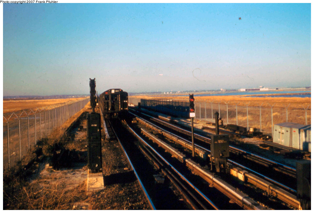 (205k, 1044x711)<br><b>Country:</b> United States<br><b>City:</b> New York<br><b>System:</b> New York City Transit<br><b>Line:</b> IND Rockaway<br><b>Location:</b> Broad Channel <br><b>Car:</b> R-1/R-9 Series   <br><b>Photo by:</b> Frank Pfuhler<br><b>Date:</b> 11/29/1957<br><b>Viewed (this week/total):</b> 2 / 3101
