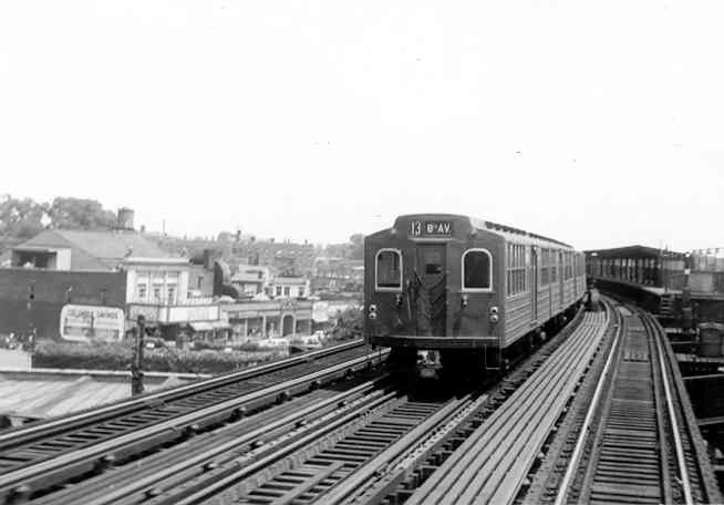 (22k, 654x456)<br><b>Country:</b> United States<br><b>City:</b> New York<br><b>System:</b> New York City Transit<br><b>Line:</b> IND Fulton Street Line<br><b>Location:</b> Rockaway Boulevard <br><b>Car:</b> BMT Multi  <br><b>Photo by:</b> Frank Pfuhler<br><b>Viewed (this week/total):</b> 4 / 3017