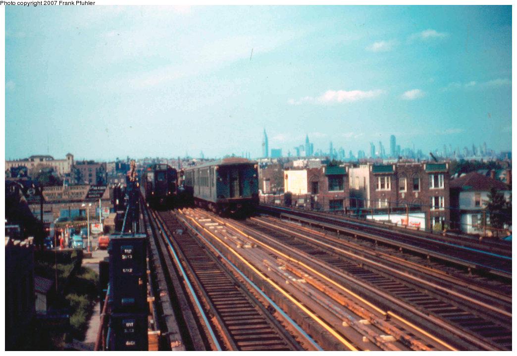 (206k, 1044x719)<br><b>Country:</b> United States<br><b>City:</b> New York<br><b>System:</b> New York City Transit<br><b>Line:</b> IRT Flushing Line<br><b>Location:</b> 74th Street/Broadway <br><b>Route:</b> Work Service<br><b>Car:</b> BMT Q  <br><b>Photo by:</b> Frank Pfuhler<br><b>Date:</b> 9/25/1955<br><b>Viewed (this week/total):</b> 0 / 2899