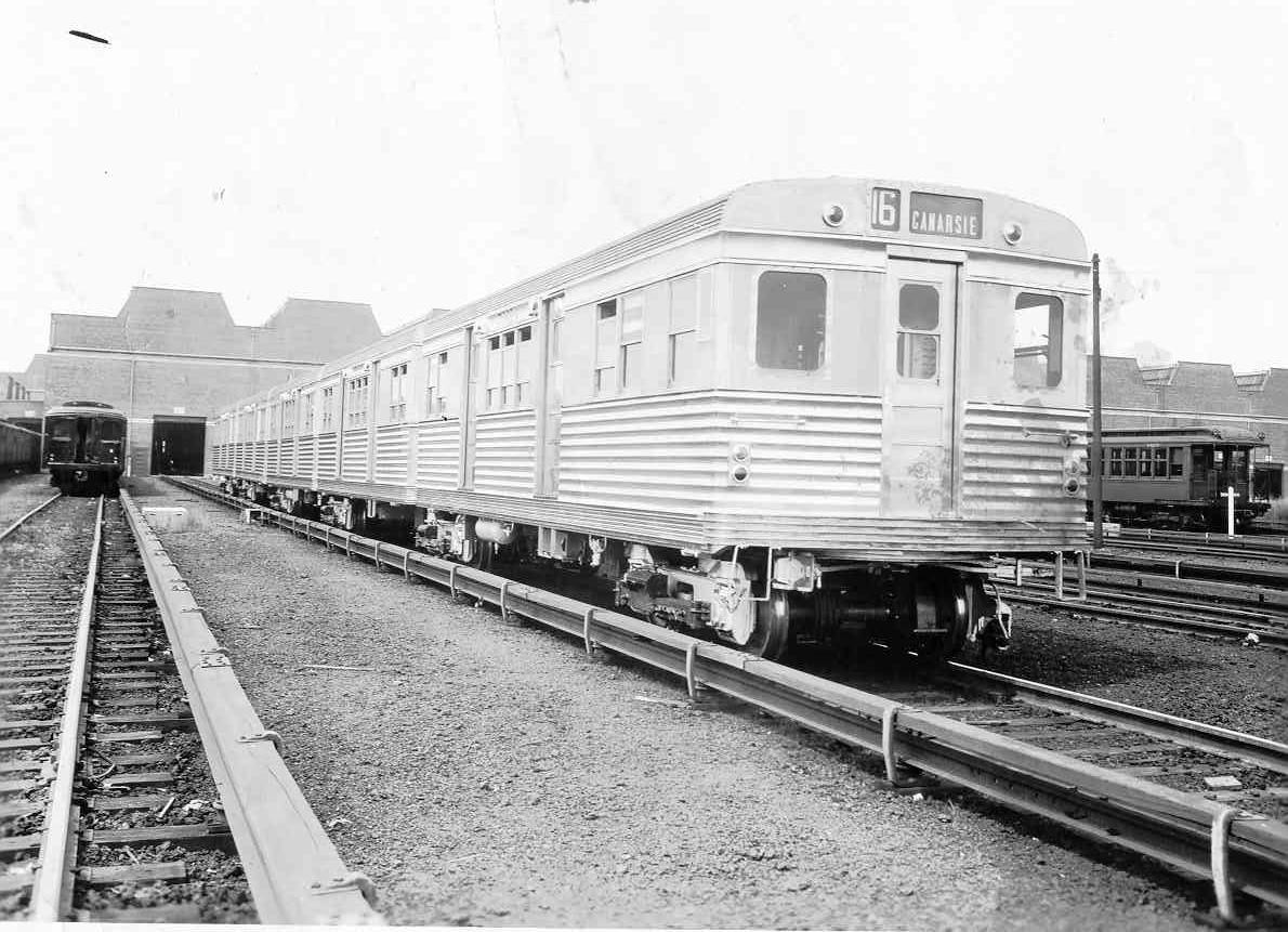 (170k, 1190x861)<br><b>Country:</b> United States<br><b>City:</b> New York<br><b>System:</b> New York City Transit<br><b>Location:</b> Coney Island Yard<br><b>Car:</b> BMT Zephyr  <br><b>Collection of:</b> Frank Pfuhler<br><b>Viewed (this week/total):</b> 2 / 2382