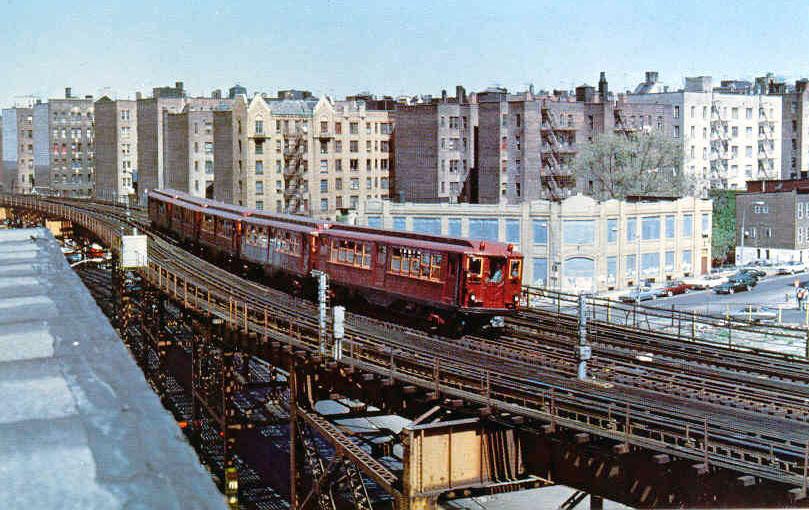(159k, 809x510)<br><b>Country:</b> United States<br><b>City:</b> New York<br><b>System:</b> New York City Transit<br><b>Line:</b> IRT Woodlawn Line<br><b>Location:</b> 167th Street <br><b>Car:</b> Low-V (Museum Train)  <br><b>Photo by:</b> Frank Pfuhler<br><b>Date:</b> 5/5/1979<br><b>Viewed (this week/total):</b> 3 / 2948