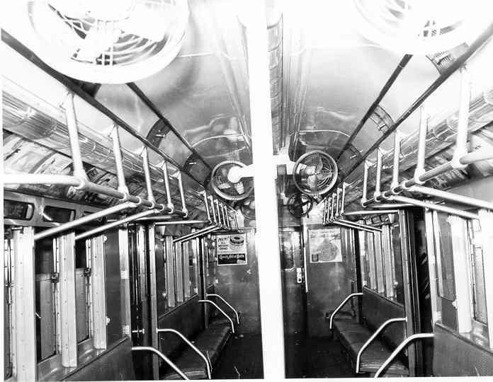 (40k, 696x540)<br><b>Country:</b> United States<br><b>City:</b> New York<br><b>System:</b> New York City Transit<br><b>Car:</b> R-14 (American Car & Foundry, 1949) 5726 <br><b>Photo by:</b> Frank Pfuhler<br><b>Date:</b> 11/11/1954<br><b>Viewed (this week/total):</b> 6 / 3299