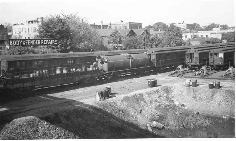 (34k, 785x468)<br><b>Country:</b> United States<br><b>City:</b> New York<br><b>System:</b> New York City Transit<br><b>Location:</b> Westchester Yard<br><b>Photo by:</b> Frank Pfuhler<br><b>Date:</b> 10/5/1963<br><b>Viewed (this week/total):</b> 0 / 1207