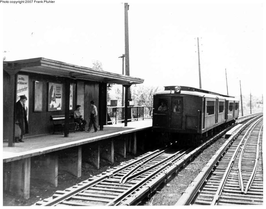 (138k, 931x733)<br><b>Country:</b> United States<br><b>City:</b> New York<br><b>System:</b> New York City Transit<br><b>Line:</b> SIRT<br><b>Location:</b> Dongan Hills <br><b>Car:</b> SIRT  <br><b>Photo by:</b> Frank Pfuhler<br><b>Date:</b> 5/16/1954<br><b>Viewed (this week/total):</b> 0 / 3466