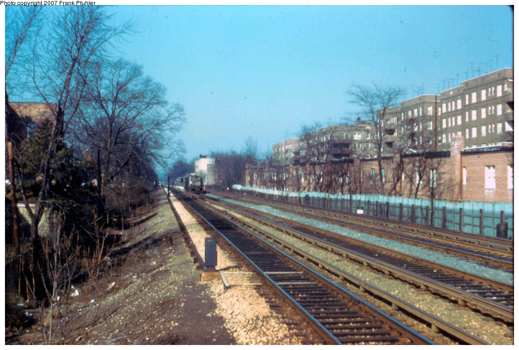 (254k, 1044x704)<br><b>Country:</b> United States<br><b>City:</b> New York<br><b>System:</b> New York City Transit<br><b>Line:</b> BMT Brighton Line<br><b>Location:</b> Avenue J <br><b>Photo by:</b> Frank Pfuhler<br><b>Date:</b> 2/12/1959<br><b>Viewed (this week/total):</b> 0 / 1629