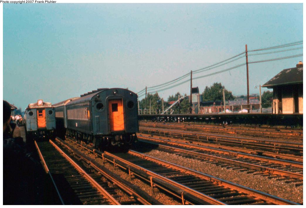 (278k, 1044x711)<br><b>Country:</b> United States<br><b>City:</b> New York<br><b>System:</b> Long Island Rail Road<br><b>Line:</b> LIRR Rockaway<br><b>Location:</b> Rego Park <br><b>Photo by:</b> Frank Pfuhler<br><b>Date:</b> 9/23/1956<br><b>Viewed (this week/total):</b> 3 / 2777