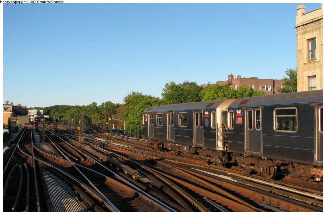(175k, 1044x689)<br><b>Country:</b> United States<br><b>City:</b> New York<br><b>System:</b> New York City Transit<br><b>Line:</b> IRT West Side Line<br><b>Location:</b> 238th Street <br><b>Route:</b> 1<br><b>Car:</b> R-62A (Bombardier, 1984-1987)  1846/1847 <br><b>Photo by:</b> Brian Weinberg<br><b>Date:</b> 10/12/2007<br><b>Viewed (this week/total):</b> 0 / 2667