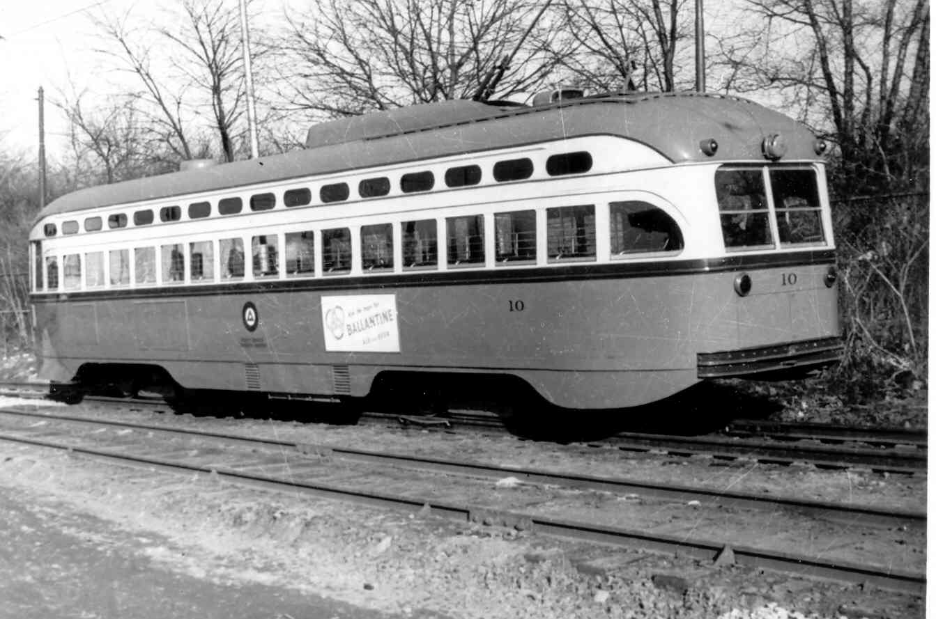 (91k, 1343x889)<br><b>Country:</b> United States<br><b>City:</b> Newark, NJ<br><b>System:</b> Newark City Subway<br><b>Car:</b> NJTransit/PSCT PCC (Ex-Twin City) (St. Louis Car Co., 1946-1947) 10 <br><b>Collection of:</b> Frank Pfuhler<br><b>Viewed (this week/total):</b> 2 / 1136