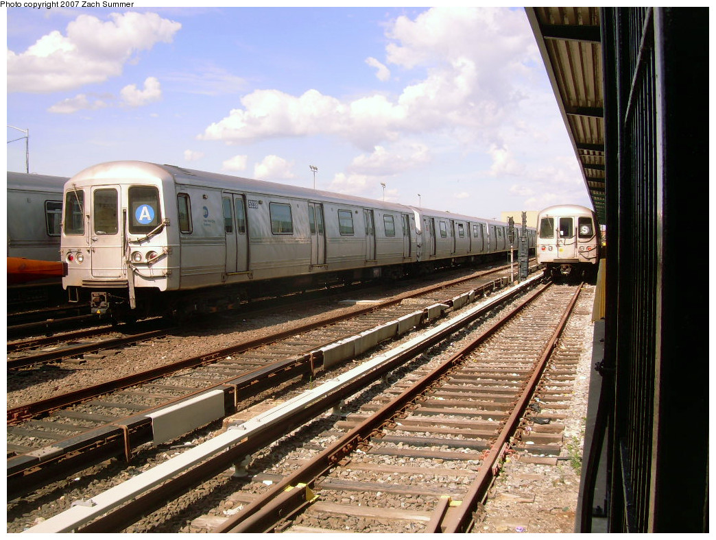 (325k, 1044x788)<br><b>Country:</b> United States<br><b>City:</b> New York<br><b>System:</b> New York City Transit<br><b>Location:</b> Rockaway Park Yard<br><b>Car:</b> R-44 (St. Louis, 1971-73) 5238 <br><b>Photo by:</b> Zach Summer<br><b>Date:</b> 7/22/2007<br><b>Viewed (this week/total):</b> 1 / 1548