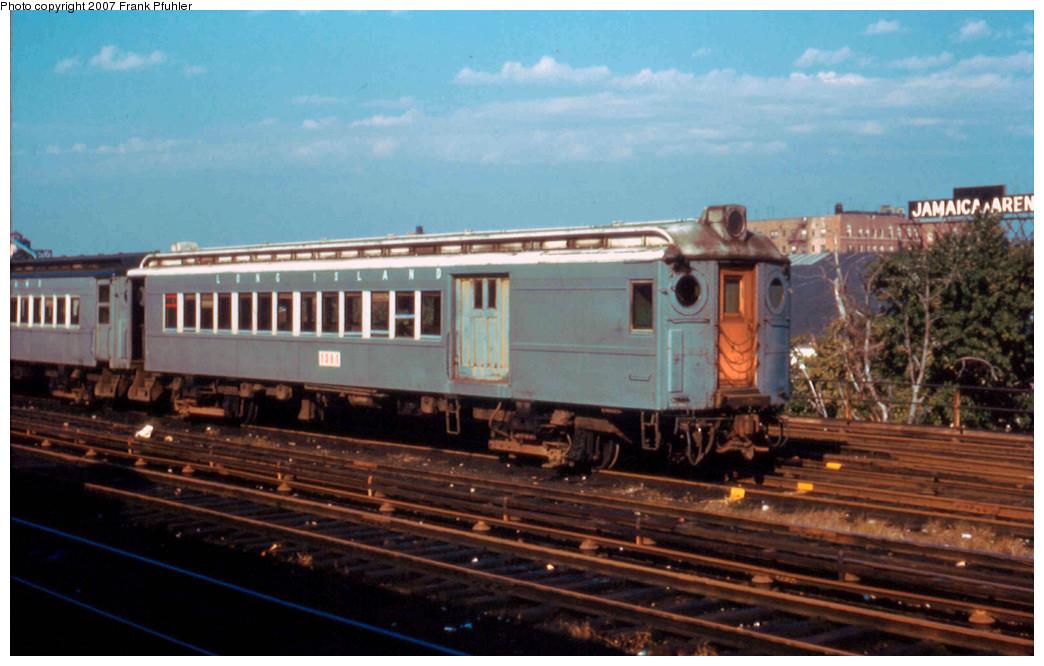 (238k, 1044x666)<br><b>Country:</b> United States<br><b>City:</b> New York<br><b>System:</b> Long Island Rail Road<br><b>Line:</b> LIRR Main Line<br><b>Location:</b> Jamaica <br><b>Car:</b> LIRR MPB-54 1381 <br><b>Photo by:</b> Frank Pfuhler<br><b>Date:</b> 10/5/1958<br><b>Viewed (this week/total):</b> 3 / 1507