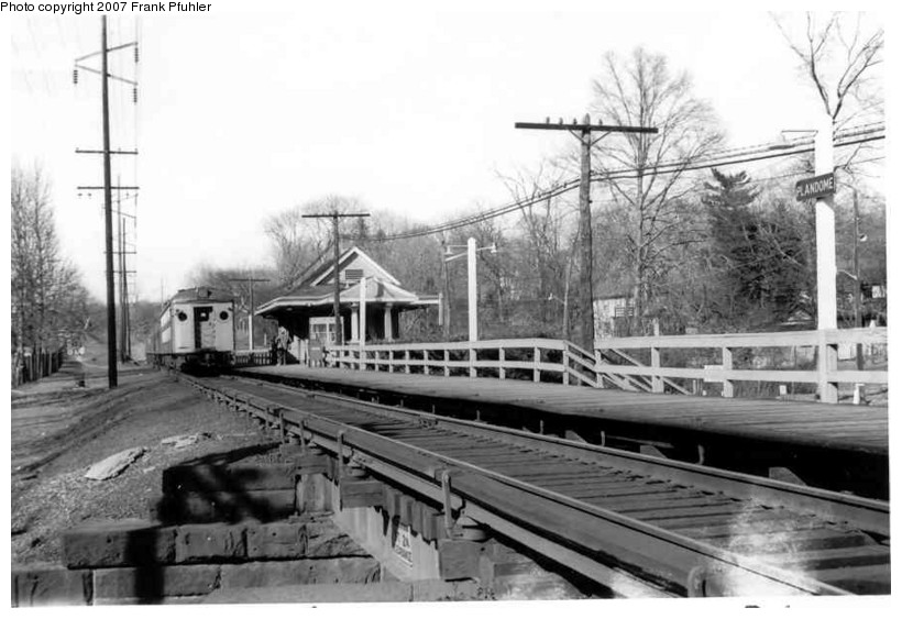 (105k, 820x563)<br><b>Country:</b> United States<br><b>System:</b> Long Island Rail Road<br><b>Line:</b> LIRR Port Washington<br><b>Location:</b> Plandome <br><b>Photo by:</b> Frank Pfuhler<br><b>Date:</b> 3/17/1962<br><b>Viewed (this week/total):</b> 1 / 2309