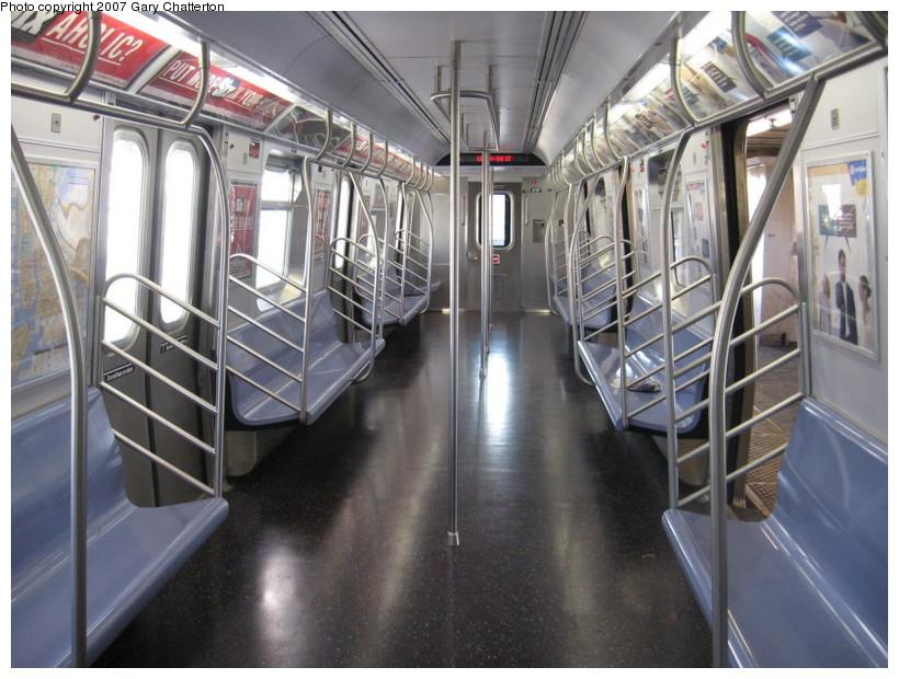 (151k, 820x620)<br><b>Country:</b> United States<br><b>City:</b> New York<br><b>System:</b> New York City Transit<br><b>Route:</b> N<br><b>Car:</b> R-160B (Kawasaki, 2005-2008)  8727 <br><b>Photo by:</b> Gary Chatterton<br><b>Date:</b> 10/15/2007<br><b>Viewed (this week/total):</b> 0 / 1594