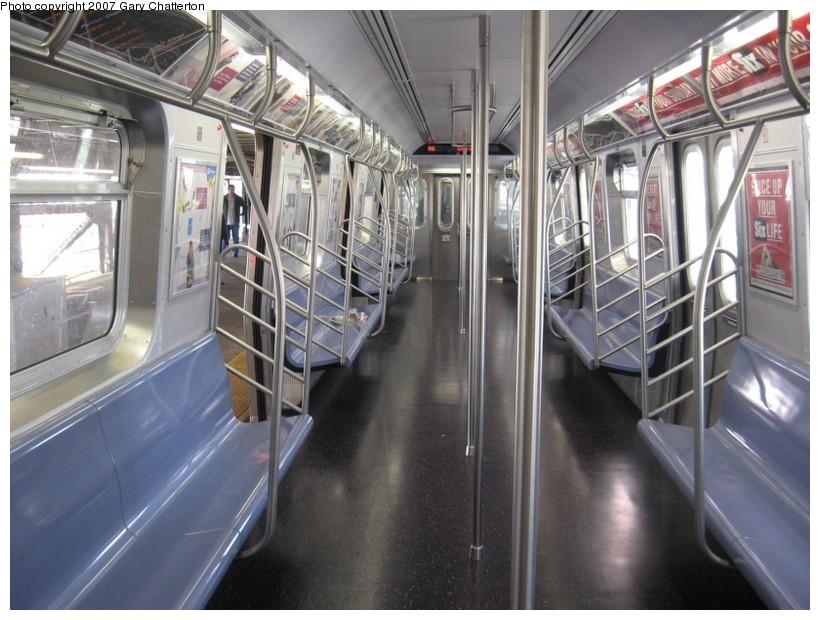 (148k, 820x620)<br><b>Country:</b> United States<br><b>City:</b> New York<br><b>System:</b> New York City Transit<br><b>Route:</b> N<br><b>Car:</b> R-160B (Kawasaki, 2005-2008)  8727 <br><b>Photo by:</b> Gary Chatterton<br><b>Date:</b> 10/15/2007<br><b>Viewed (this week/total):</b> 0 / 1783