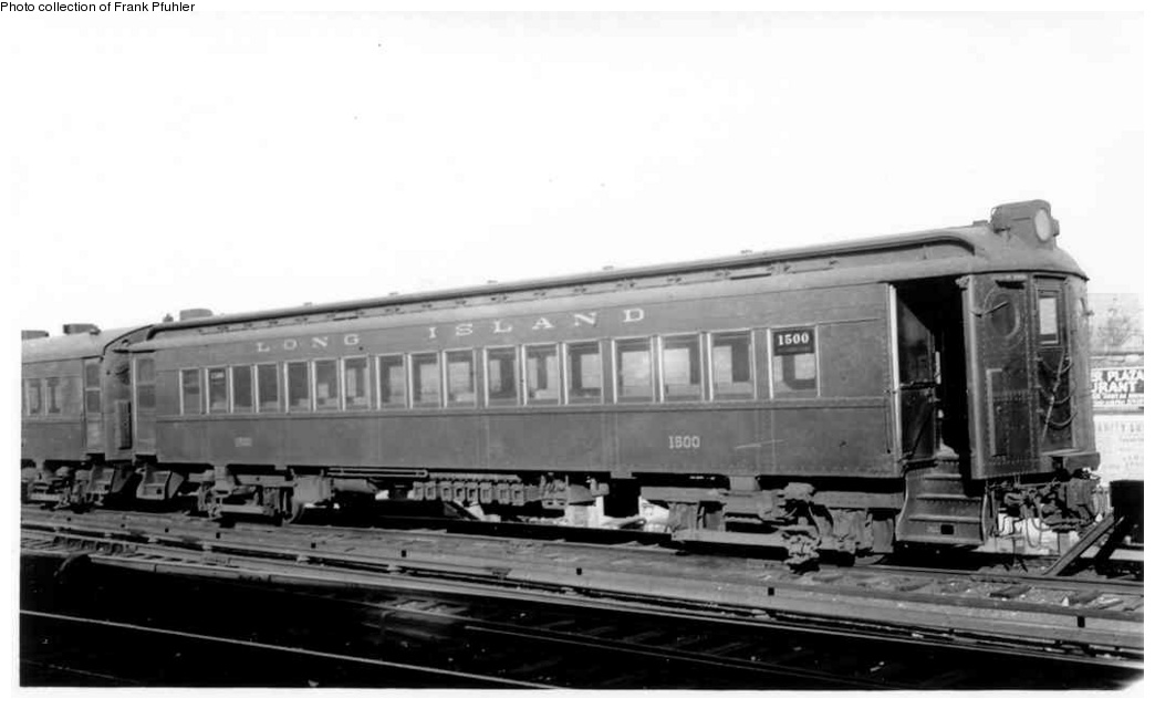 (134k, 1044x641)<br><b>Country:</b> United States<br><b>City:</b> New York<br><b>System:</b> Long Island Rail Road<br><b>Line:</b> LIRR Main Line<br><b>Location:</b> Jamaica <br><b>Car:</b>  1500 <br><b>Collection of:</b> Frank Pfuhler<br><b>Date:</b> 2/5/1939<br><b>Viewed (this week/total):</b> 2 / 1352