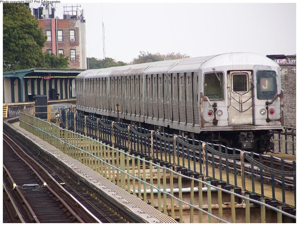 (294k, 1044x788)<br><b>Country:</b> United States<br><b>City:</b> New York<br><b>System:</b> New York City Transit<br><b>Line:</b> BMT Nassau Street/Jamaica Line<br><b>Location:</b> Cypress Hills <br><b>Route:</b> J<br><b>Car:</b> R-42 (St. Louis, 1969-1970)  4680 <br><b>Photo by:</b> Philip D'Allesandro<br><b>Date:</b> 11/4/2007<br><b>Viewed (this week/total):</b> 0 / 2361