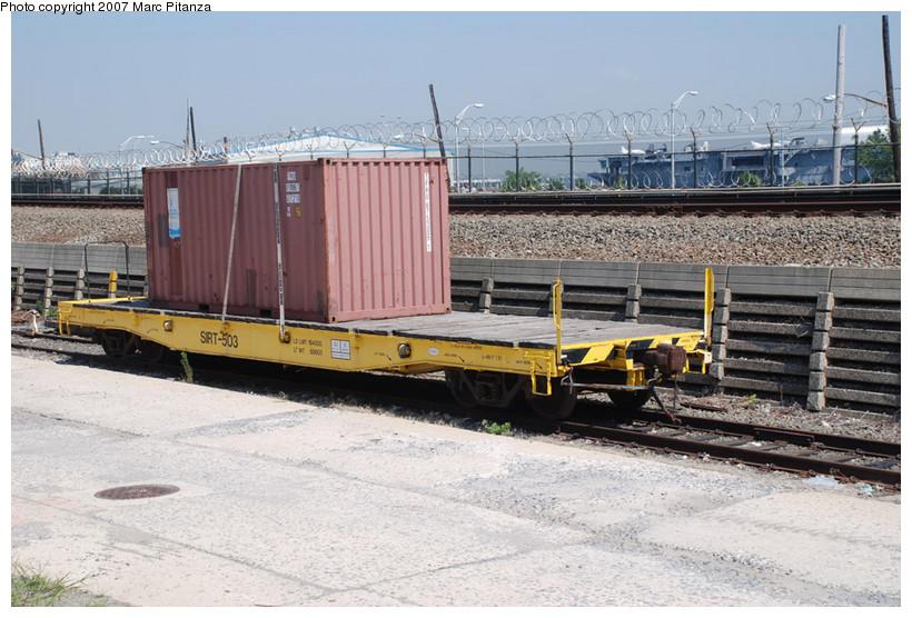 (160k, 820x556)<br><b>Country:</b> United States<br><b>City:</b> New York<br><b>System:</b> New York City Transit<br><b>Line:</b> SIRT<br><b>Location:</b> Clifton Yard/Shops <br><b>Photo by:</b> Marc Pitanza<br><b>Date:</b> 8/29/2007<br><b>Viewed (this week/total):</b> 0 / 1529