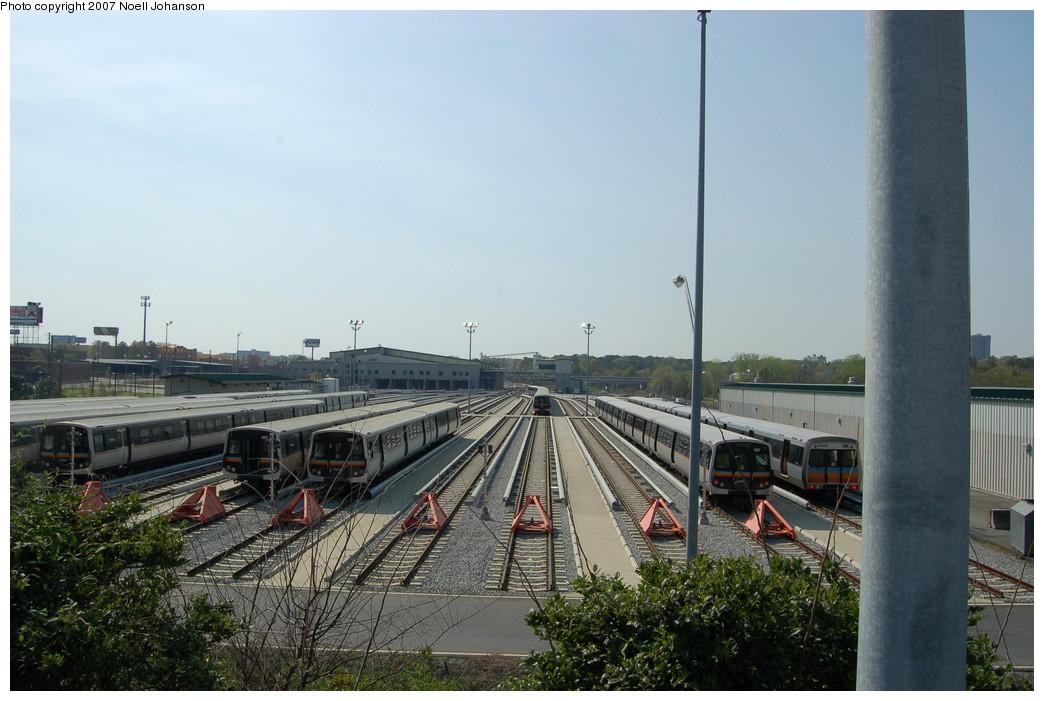(244k, 1044x701)<br><b>Country:</b> United States<br><b>City:</b> Atlanta, GA<br><b>System:</b> MARTA<br><b>Line:</b> North-South Line <br><b>Location:</b> Armour Yard <br><b>Photo by:</b> Noell Johanson<br><b>Date:</b> 3/25/2007<br><b>Viewed (this week/total):</b> 0 / 1478