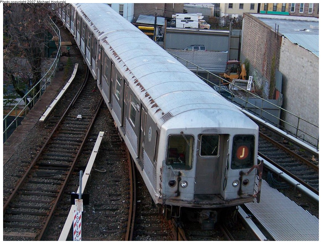 (314k, 1044x790)<br><b>Country:</b> United States<br><b>City:</b> New York<br><b>System:</b> New York City Transit<br><b>Location:</b> East New York Yard/Shops<br><b>Car:</b> R-42 (St. Louis, 1969-1970)  4863 <br><b>Photo by:</b> Michael Hodurski<br><b>Date:</b> 11/6/2007<br><b>Viewed (this week/total):</b> 3 / 1960