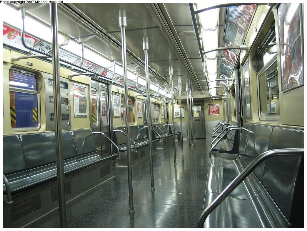 (261k, 1044x788)<br><b>Country:</b> United States<br><b>City:</b> New York<br><b>System:</b> New York City Transit<br><b>Route:</b> A<br><b>Car:</b> R-32 (Budd, 1964)  3484 <br><b>Photo by:</b> Michael Hodurski<br><b>Date:</b> 11/12/2007<br><b>Viewed (this week/total):</b> 0 / 1629
