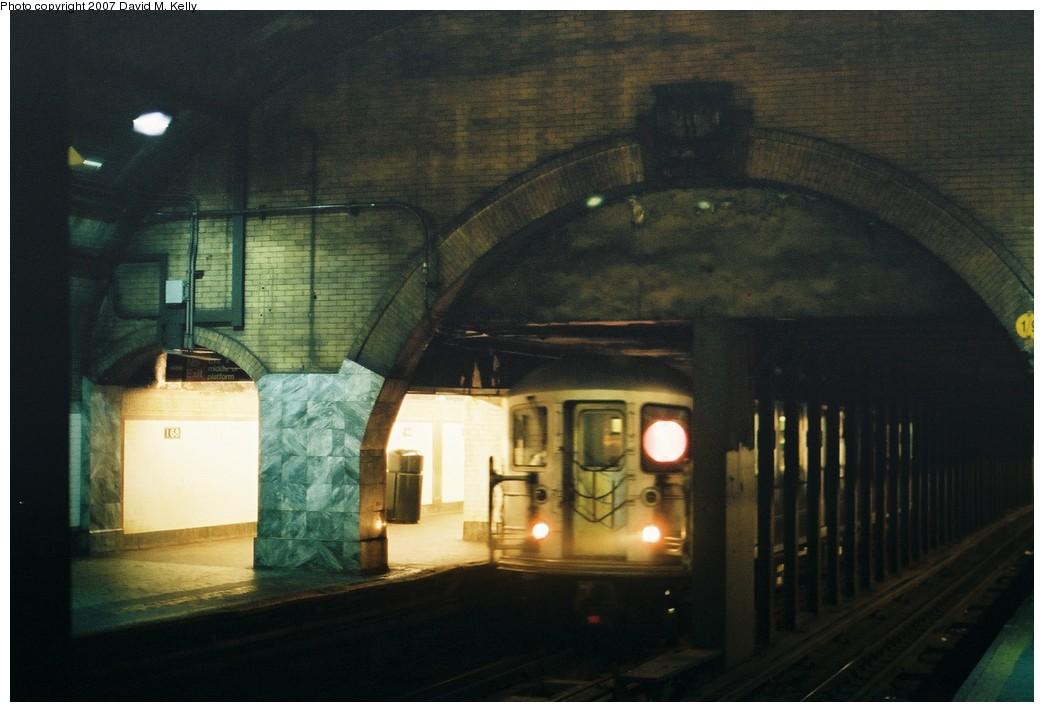 (150k, 1044x712)<br><b>Country:</b> United States<br><b>City:</b> New York<br><b>System:</b> New York City Transit<br><b>Line:</b> IRT West Side Line<br><b>Location:</b> 168th Street <br><b>Photo by:</b> David M. Kelly<br><b>Date:</b> 2007<br><b>Viewed (this week/total):</b> 0 / 1458