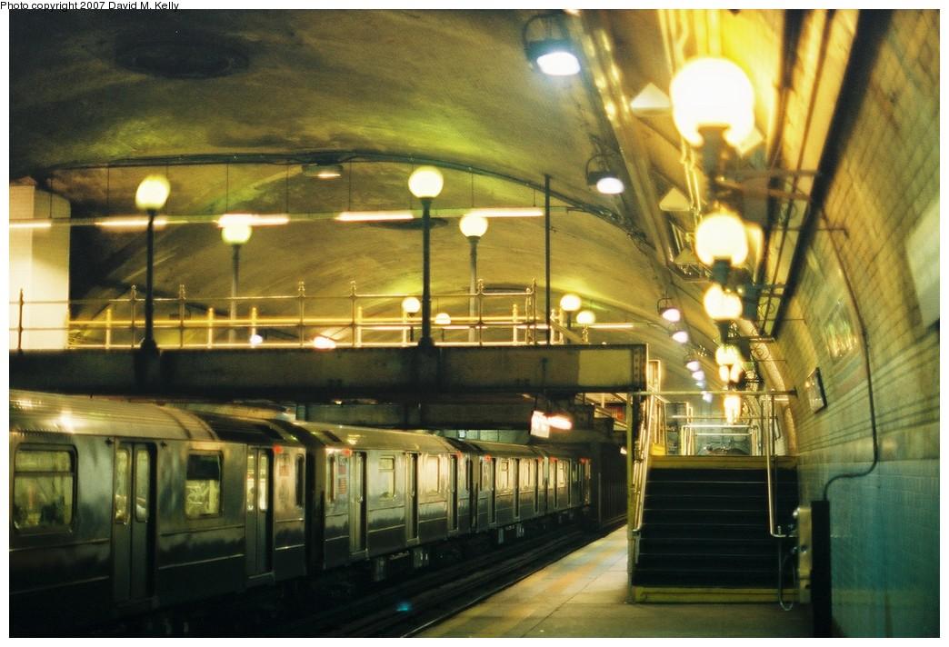 (194k, 1044x712)<br><b>Country:</b> United States<br><b>City:</b> New York<br><b>System:</b> New York City Transit<br><b>Line:</b> IRT West Side Line<br><b>Location:</b> 168th Street <br><b>Photo by:</b> David M. Kelly<br><b>Date:</b> 2007<br><b>Viewed (this week/total):</b> 1 / 1815