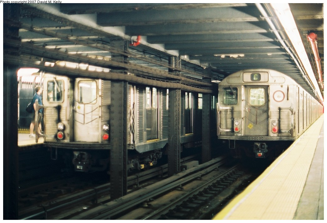 (185k, 1044x712)<br><b>Country:</b> United States<br><b>City:</b> New York<br><b>System:</b> New York City Transit<br><b>Line:</b> IND 8th Avenue Line<br><b>Location:</b> 168th Street <br><b>Photo by:</b> David M. Kelly<br><b>Date:</b> 2007<br><b>Viewed (this week/total):</b> 0 / 1782