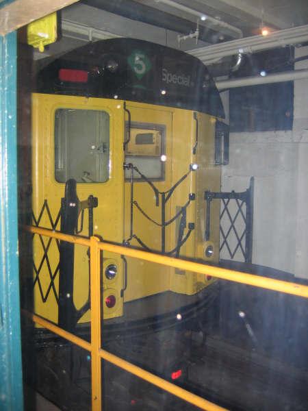 (37k, 450x600)<br><b>Country:</b> United States<br><b>City:</b> New York<br><b>System:</b> New York City Transit<br><b>Location:</b> New York Transit Museum<br><b>Car:</b> R-95 Revenue Collector 0R714 (ex-7194)<br><b>Photo by:</b> Professor J<br><b>Date:</b> 11/8/2007<br><b>Viewed (this week/total):</b> 0 / 2471