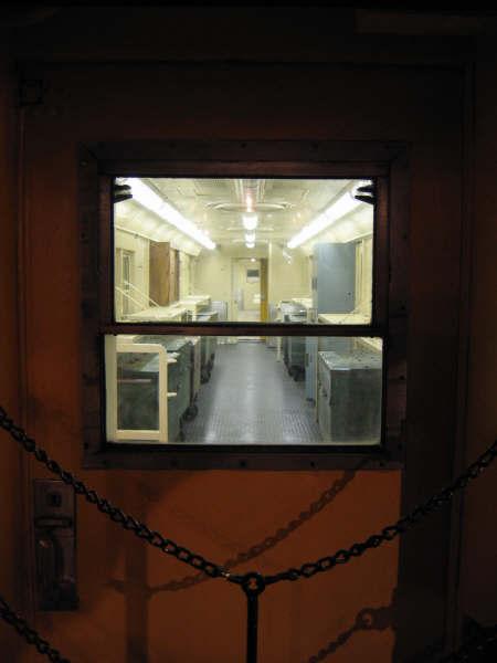 (22k, 450x600)<br><b>Country:</b> United States<br><b>City:</b> New York<br><b>System:</b> New York City Transit<br><b>Location:</b> New York Transit Museum<br><b>Car:</b> R-95 Revenue Collector 0R714 (ex-7194)<br><b>Photo by:</b> Professor J<br><b>Date:</b> 11/8/2007<br><b>Viewed (this week/total):</b> 5 / 2386