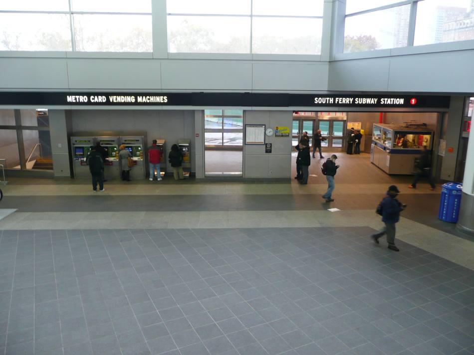 (87k, 950x712)<br><b>Country:</b> United States<br><b>City:</b> New York<br><b>System:</b> New York City Transit<br><b>Line:</b> IRT West Side Line<br><b>Location:</b> South Ferry (Outer Loop Station) <br><b>Photo by:</b> Robbie Rosenfeld<br><b>Date:</b> 11/15/2007<br><b>Viewed (this week/total):</b> 11 / 5242