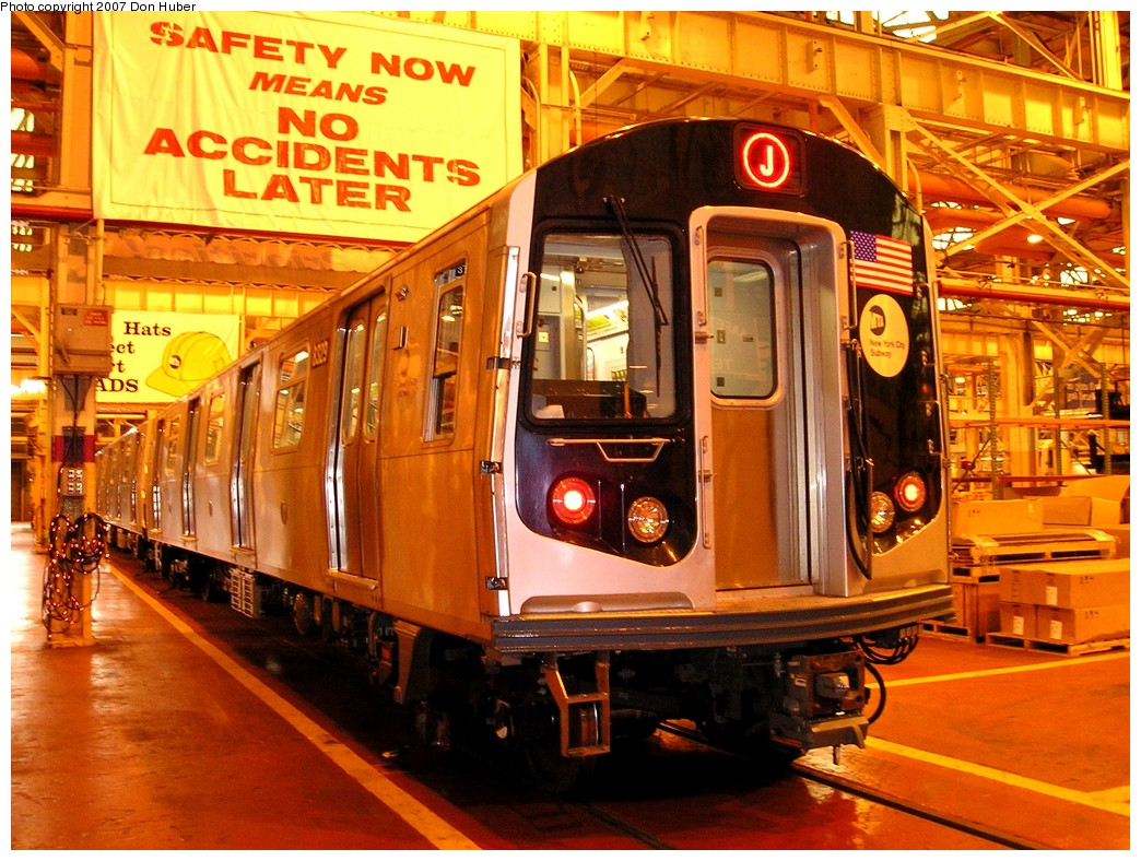 (260k, 1044x788)<br><b>Country:</b> United States<br><b>City:</b> New York<br><b>System:</b> New York City Transit<br><b>Location:</b> Coney Island Shop/Overhaul & Repair Shop<br><b>Car:</b> R-160A-1 (Alstom, 2005-2008, 4 car sets)  8329 <br><b>Photo by:</b> Don Huber<br><b>Date:</b> 11/28/2007<br><b>Viewed (this week/total):</b> 0 / 3313