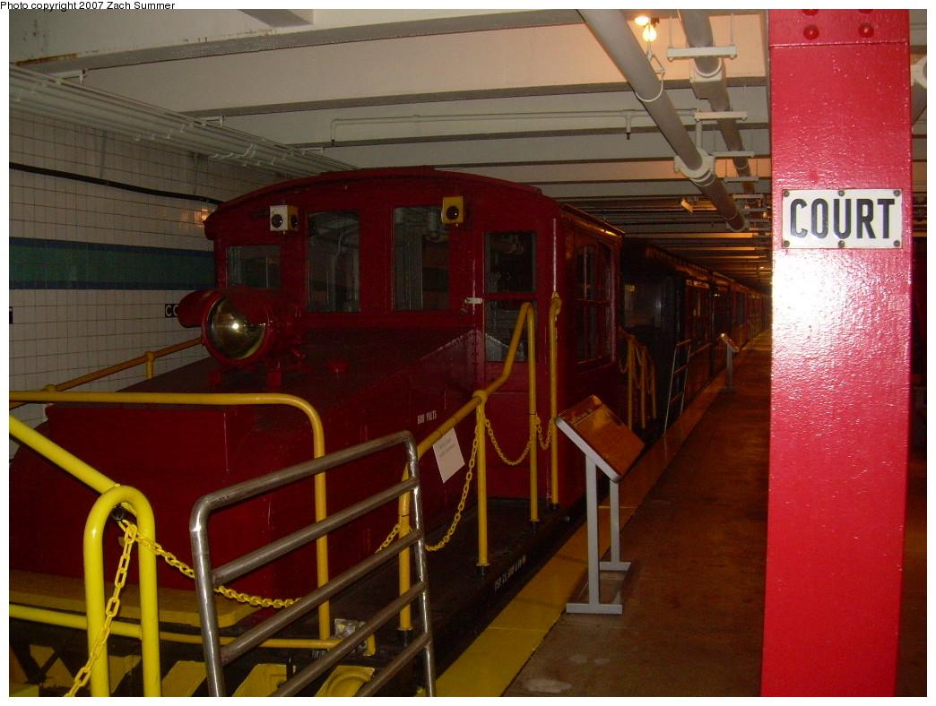 (257k, 1044x788)<br><b>Country:</b> United States<br><b>City:</b> New York<br><b>System:</b> New York City Transit<br><b>Location:</b> New York Transit Museum<br><b>Car:</b> SBK Steeplecab 5 <br><b>Photo by:</b> Zach Summer<br><b>Date:</b> 8/18/2007<br><b>Viewed (this week/total):</b> 0 / 1755