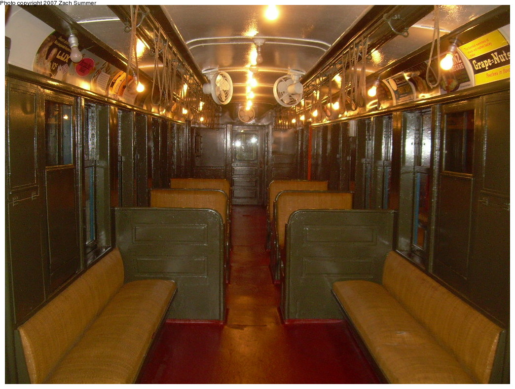(288k, 1044x788)<br><b>Country:</b> United States<br><b>City:</b> New York<br><b>System:</b> New York City Transit<br><b>Location:</b> New York Transit Museum<br><b>Car:</b> BMT Q 1612 <br><b>Photo by:</b> Zach Summer<br><b>Date:</b> 8/18/2007<br><b>Viewed (this week/total):</b> 0 / 4003