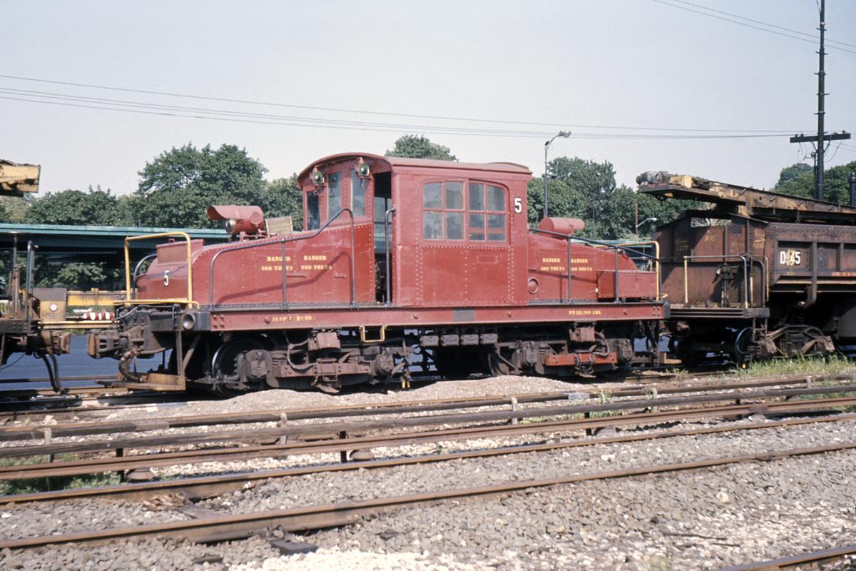(495k, 1024x683)<br><b>Country:</b> United States<br><b>City:</b> New York<br><b>System:</b> New York City Transit<br><b>Location:</b> 36th Street Yard<br><b>Car:</b> SBK Steeplecab 5 <br><b>Photo by:</b> Ed Davis, Sr.<br><b>Collection of:</b> David Pirmann<br><b>Date:</b> 1970<br><b>Viewed (this week/total):</b> 1 / 2247