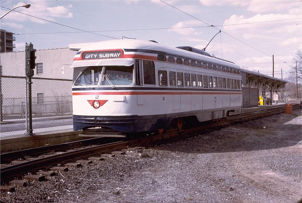 (278k, 1024x688)<br><b>Country:</b> United States<br><b>City:</b> Newark, NJ<br><b>System:</b> Newark City Subway<br><b>Location:</b> Franklin Avenue <br><b>Route:</b> 7-City Subway<br><b>Car:</b> NJTransit/PSCT PCC (Ex-Twin City) (St. Louis Car Co., 1946-1947) 2 <br><b>Photo by:</b> Willie Rosenberg<br><b>Collection of:</b> Joe Testagrose<br><b>Date:</b> 4/1975<br><b>Viewed (this week/total):</b> 0 / 1096