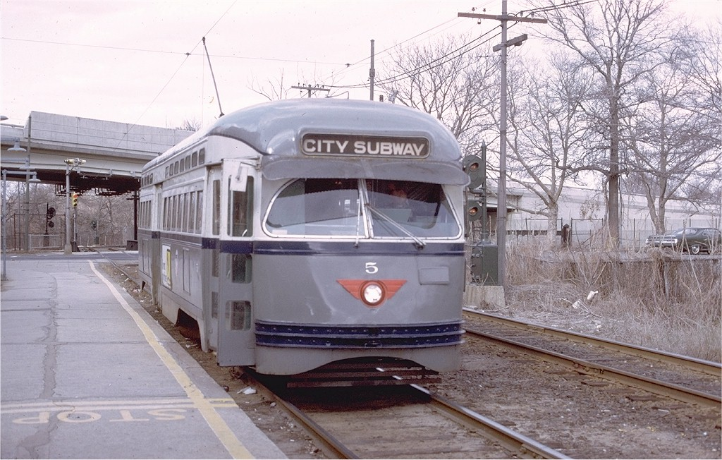 (223k, 1024x652)<br><b>Country:</b> United States<br><b>City:</b> Newark, NJ<br><b>System:</b> Newark City Subway<br><b>Location:</b> Orange Street <br><b>Route:</b> 7-City Subway<br><b>Car:</b> NJTransit/PSCT PCC (Ex-Twin City) (St. Louis Car Co., 1946-1947) 5 <br><b>Photo by:</b> Willie Rosenberg<br><b>Collection of:</b> Joe Testagrose<br><b>Date:</b> 4/1975<br><b>Viewed (this week/total):</b> 1 / 1229