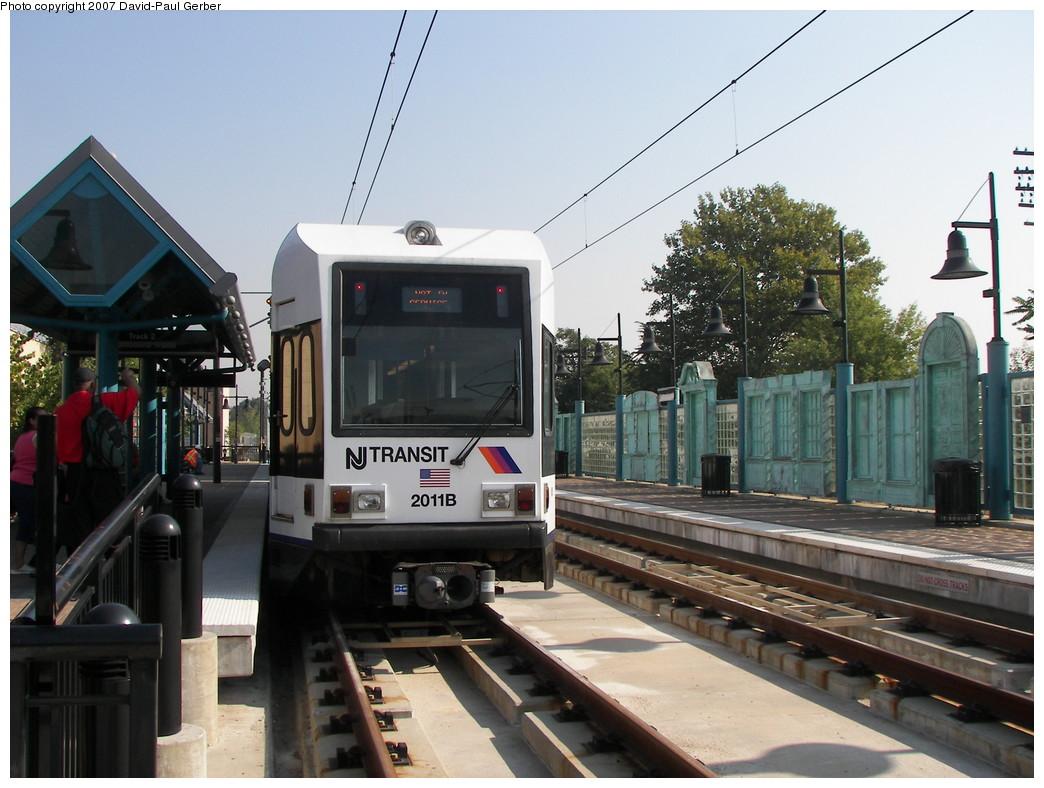 (264k, 1044x788)<br><b>Country:</b> United States<br><b>City:</b> Bayonne, NJ<br><b>System:</b> Hudson Bergen Light Rail<br><b>Location:</b> East 22nd Street <br><b>Car:</b> NJT-HBLR LRV (Kinki-Sharyo, 1998-99)  2011 <br><b>Photo by:</b> David-Paul Gerber<br><b>Date:</b> 9/21/2007<br><b>Viewed (this week/total):</b> 3 / 1164