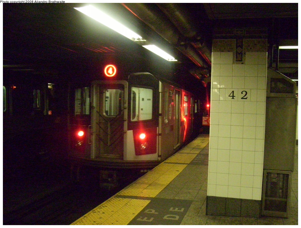 (249k, 1044x791)<br><b>Country:</b> United States<br><b>City:</b> New York<br><b>System:</b> New York City Transit<br><b>Line:</b> IRT East Side Line<br><b>Location:</b> Grand Central <br><b>Route:</b> 4<br><b>Car:</b> R-142A (Supplemental Order, Kawasaki, 2003-2004)  7755 <br><b>Photo by:</b> Aliandro Brathwaite<br><b>Date:</b> 12/24/2007<br><b>Viewed (this week/total):</b> 0 / 2603