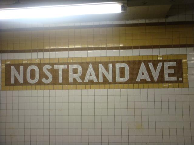 (88k, 640x480)<br><b>Country:</b> United States<br><b>City:</b> New York<br><b>System:</b> New York City Transit<br><b>Line:</b> IND Fulton Street Line<br><b>Location:</b> Nostrand Avenue <br><b>Photo by:</b> Danny Molina<br><b>Date:</b> 1/9/2008<br><b>Viewed (this week/total):</b> 2 / 1313