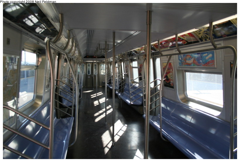 (131k, 820x553)<br><b>Country:</b> United States<br><b>City:</b> New York<br><b>System:</b> New York City Transit<br><b>Car:</b> R-160B (Kawasaki, 2005-2008)  8887 <br><b>Photo by:</b> Neil Feldman<br><b>Date:</b> 12/28/2007<br><b>Viewed (this week/total):</b> 0 / 2360