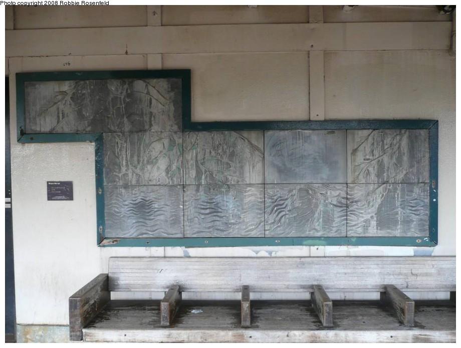 (155k, 920x695)<br><b>Country:</b> United States<br><b>City:</b> New York<br><b>System:</b> New York City Transit<br><b>Line:</b> IRT West Side Line<br><b>Location:</b> 215th Street <br><b>Photo by:</b> Robbie Rosenfeld<br><b>Date:</b> 1/8/2008<br><b>Artwork:</b> <i>Elevated Nature I-IV</i>, Wopo Holup (1991).<br><b>Viewed (this week/total):</b> 0 / 1604