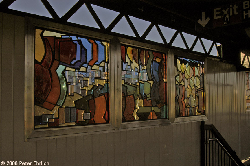 (179k, 864x574)<br><b>Country:</b> United States<br><b>City:</b> New York<br><b>System:</b> New York City Transit<br><b>Line:</b> BMT Nassau Street/Jamaica Line<br><b>Location:</b> Hewes Street <br><b>Photo by:</b> Peter Ehrlich<br><b>Date:</b> 1/3/2008<br><b>Artwork:</b> <i>El in 16 Notes</i>, Mara Held.<br><b>Notes:</b> Artwork at Hewes Street.<br><b>Viewed (this week/total):</b> 1 / 1482