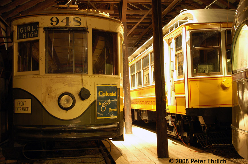 (208k, 864x571)<br><b>Country:</b> United States<br><b>City:</b> East Haven/Branford, Ct.<br><b>System:</b> Shore Line Trolley Museum <br><b>Car:</b>  948 <br><b>Photo by:</b> Peter Ehrlich<br><b>Date:</b> 12/23/2007<br><b>Notes:</b> Atlanta, Georgia Power Company 948.<br><b>Viewed (this week/total):</b> 0 / 643