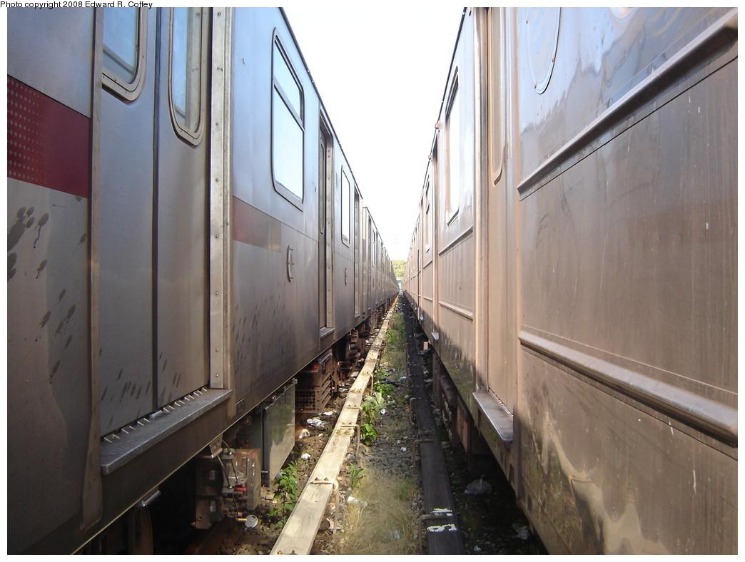 (209k, 1044x788)<br><b>Country:</b> United States<br><b>City:</b> New York<br><b>System:</b> New York City Transit<br><b>Location:</b> Livonia Yard<br><b>Photo by:</b> Edward R. Coffey<br><b>Date:</b> 10/4/2007<br><b>Viewed (this week/total):</b> 2 / 3189