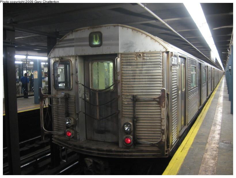 (126k, 820x620)<br><b>Country:</b> United States<br><b>City:</b> New York<br><b>System:</b> New York City Transit<br><b>Line:</b> IND Queens Boulevard Line<br><b>Location:</b> Northern Boulevard <br><b>Route:</b> V<br><b>Car:</b> R-32 (Budd, 1964)  3610 <br><b>Photo by:</b> Gary Chatterton<br><b>Date:</b> 8/13/2009<br><b>Viewed (this week/total):</b> 1 / 1599