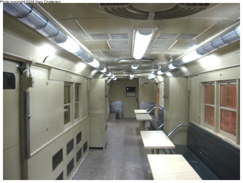 (115k, 820x620)<br><b>Country:</b> United States<br><b>City:</b> New York<br><b>System:</b> New York City Transit<br><b>Location:</b> New York Transit Museum<br><b>Car:</b> R-95 Locker Car (Revenue Train) 1R714 (ex-7422)<br><b>Photo by:</b> Gary Chatterton<br><b>Date:</b> 1/10/2008<br><b>Viewed (this week/total):</b> 2 / 3795