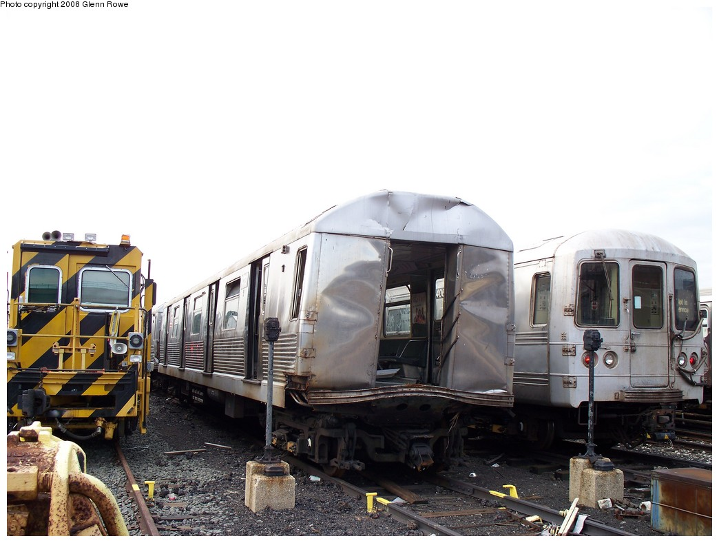 (193k, 1044x788)<br><b>Country:</b> United States<br><b>City:</b> New York<br><b>System:</b> New York City Transit<br><b>Location:</b> 207th Street Yard<br><b>Car:</b> R-42 (St. Louis, 1969-1970)  4731 <br><b>Photo by:</b> Glenn L. Rowe<br><b>Date:</b> 1/17/2008<br><b>Viewed (this week/total):</b> 7 / 6151