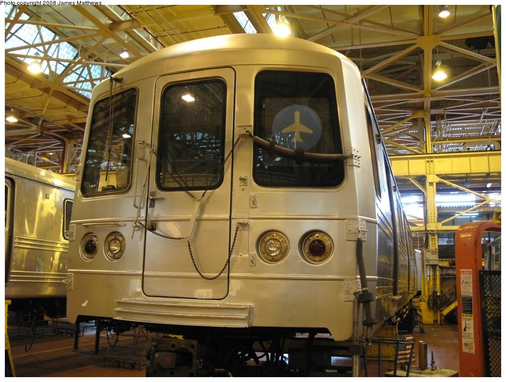 (228k, 1044x788)<br><b>Country:</b> United States<br><b>City:</b> New York<br><b>System:</b> New York City Transit<br><b>Location:</b> Coney Island Shop/Overhaul & Repair Shop<br><b>Car:</b> R-46 (Pullman-Standard, 1974-75) 5658 <br><b>Photo by:</b> James Matthews<br><b>Date:</b> 1/21/2008<br><b>Viewed (this week/total):</b> 5 / 3182